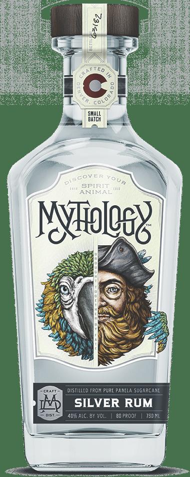 Feather Jester Rum Bottle