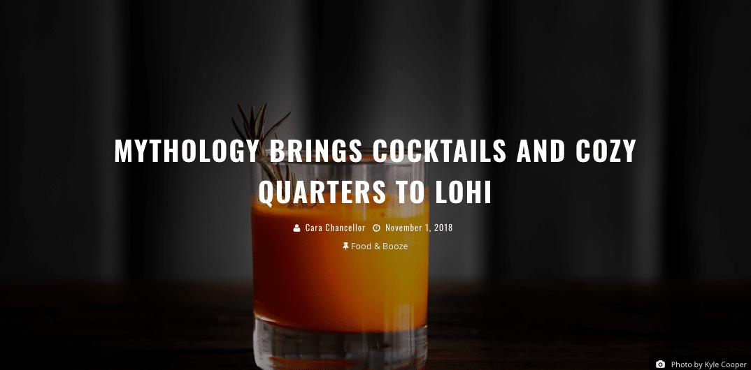 Mythology Distillery in 303 Magazine
