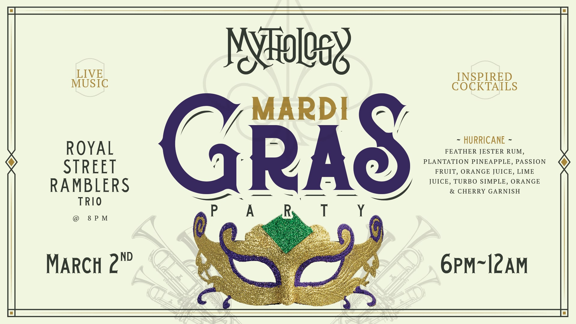 Mardi Gras Mythology Distillery