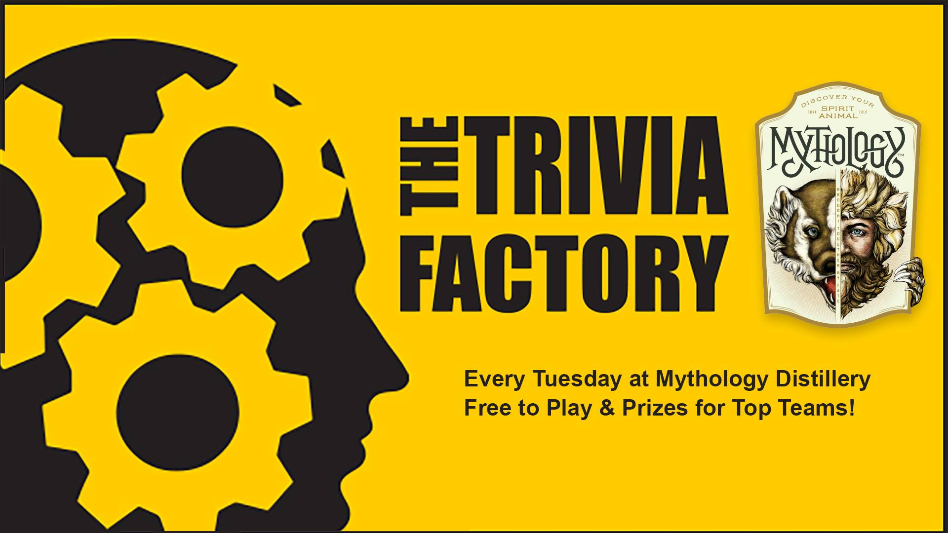 trivia night mythology distillery