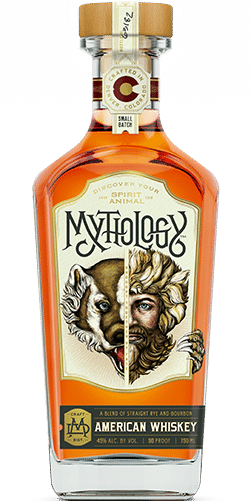 Mythology Hell Bear American Whiskey Bottle