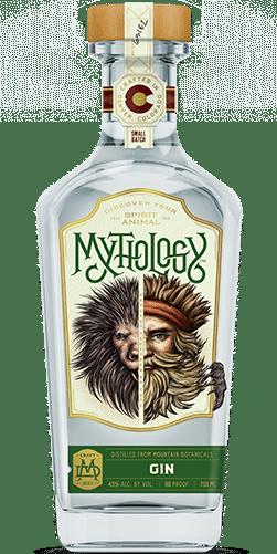 Mythology Needle Pig Gin Bottle
