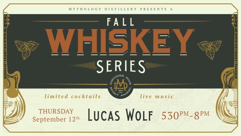 lucas wolf at mythology distillery