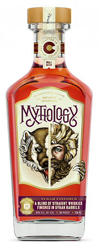 Mythology Syrah Finished Whiskey Bottle