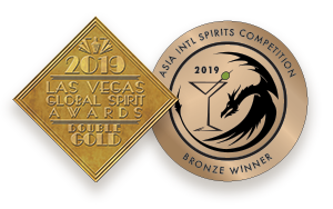 Needle Pig Gin Awards and Medals