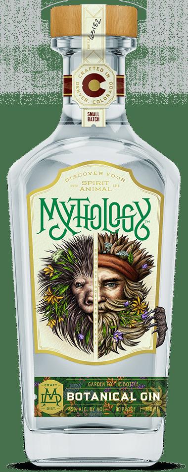 Mythology Foragers Botanical Gin - Bottle Front