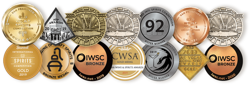 Mythology Distillery Whiskey Awards