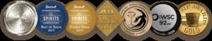 Mythology Distillery Gin Awards