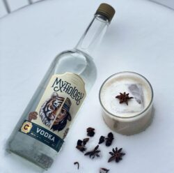 Perfect White Russian Cocktail